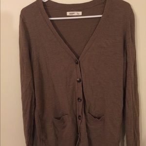 Old Navy brown grandfather cardigan